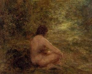 Ignace Henri Jean Fantin-Latour - The Bather
