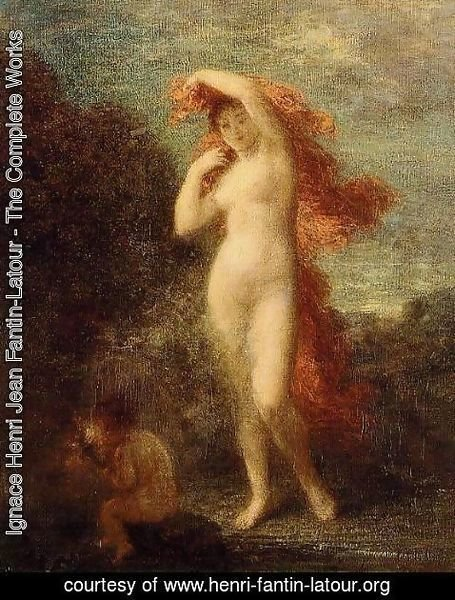 Ignace Henri Jean Fantin-Latour - Venus and Cupid