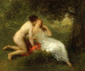 Ignace Henri Jean Fantin-Latour - Bathers (or The Secret)