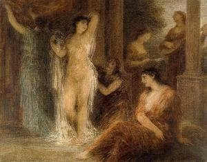 Ignace Henri Jean Fantin-Latour - The Bath