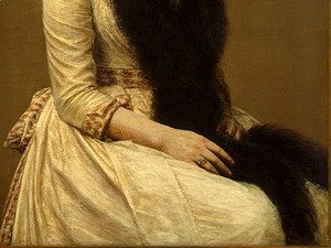 Portrait of Sonia [detail: 2]