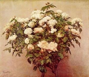 Rose Trees - White Roses