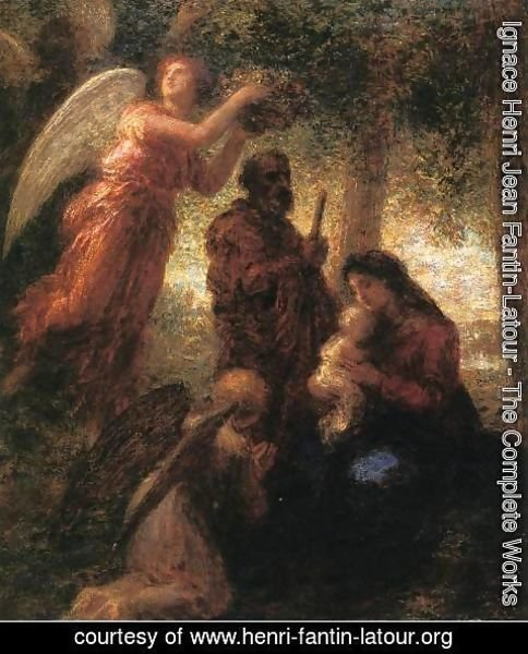 Ignace Henri Jean Fantin-Latour - The Birth of Christ