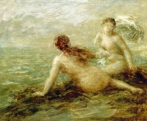 Ignace Henri Jean Fantin-Latour - Bathers by the Sea
