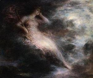 Ignace Henri Jean Fantin-Latour - Queen of the Night