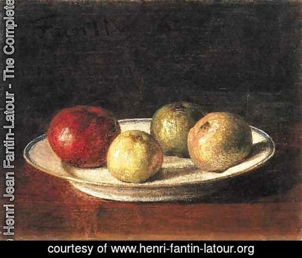 A Plate of Apples