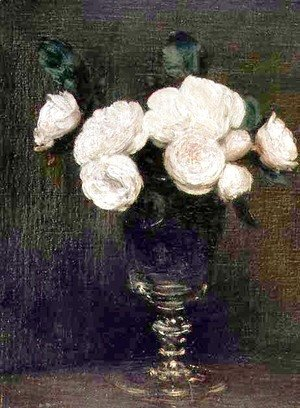 Still Life of Malmaison Roses