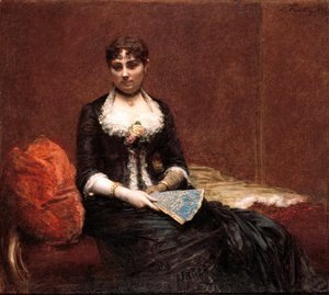 Portrait of Madame Leon Maitre