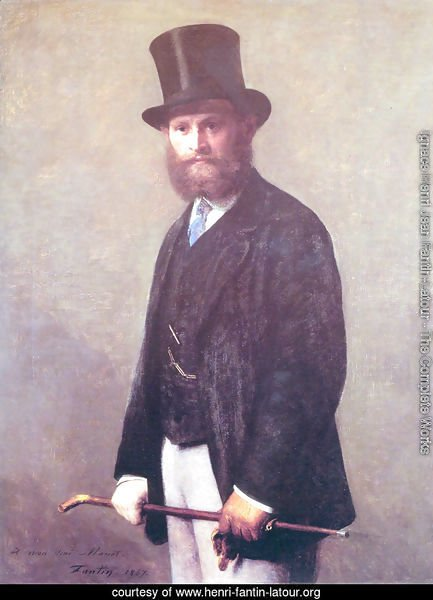 Portrait of Edouard Manet 1867