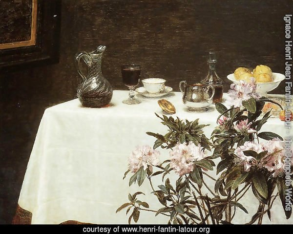 Still Life- The Corner of a Table 1873