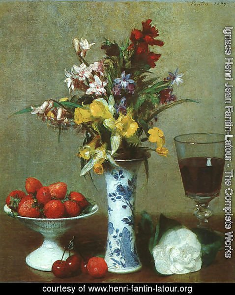 Still Life- The Engagement 1869